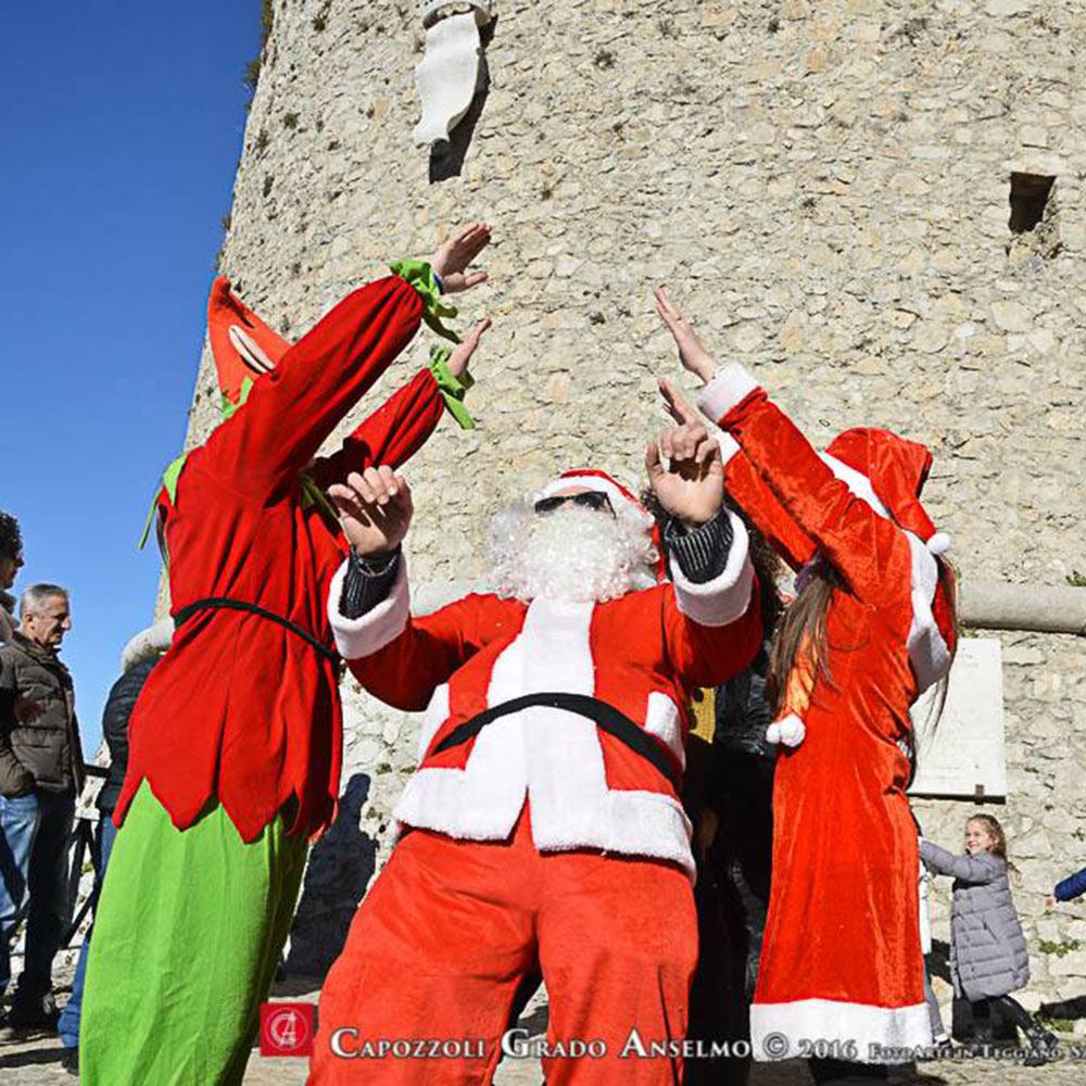 Babbo Natale al castello