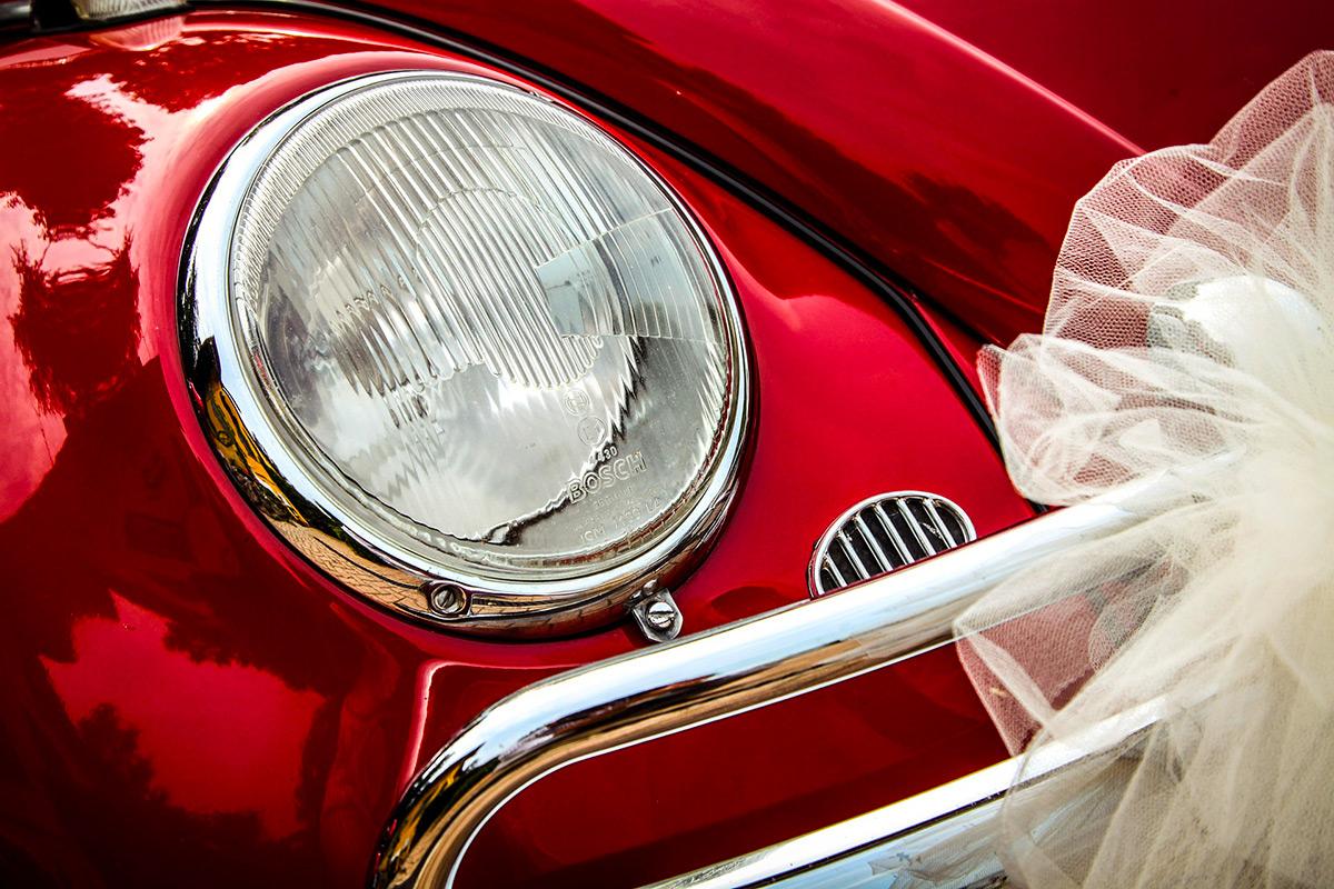 auto di matrimonio